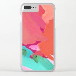 Tin Foil Clear iPhone Case