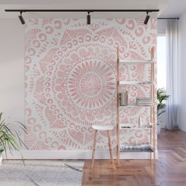 Blush Lace Wall Mural