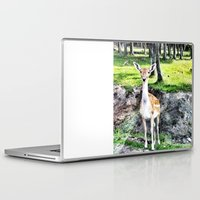 bambi Laptop & iPad Skins featuring Bambi by The Miniatures