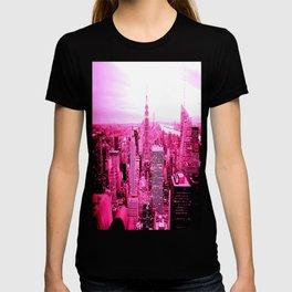 New York City Pink T-shirt