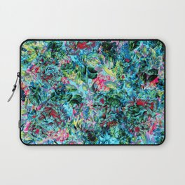 Abstract Floral Chaos Laptop Sleeve