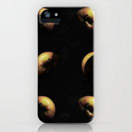 Planet apple triptychon IV iPhone Case