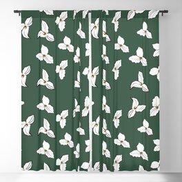 Trilliums Blackout Curtain