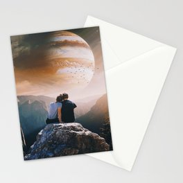 A Weird Planet Stationery Cards