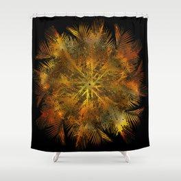 The Majesty Palm Swirl (No BG) Shower Curtain