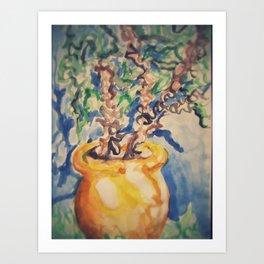 Jardins Marjorelles Art Print