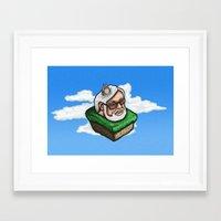 miyazaki Framed Art Prints featuring Hayao Miyazaki by mr adam cain