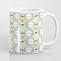 airplane Mugs featuring airplane by ottomanbrim