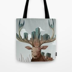 Unwelcome Visitor Tote Bag