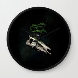 The Third Sanctuary in Space Wall Clock