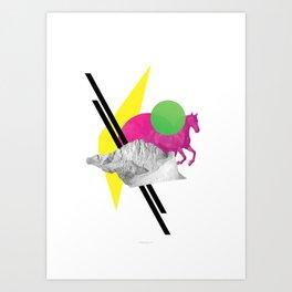 Randomize Art Print