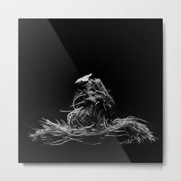 Lettuce root Metal Print