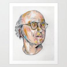 Floating Larry Art Print