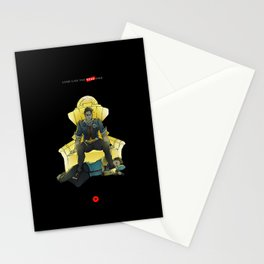 Long Live the Dead King Stationery Cards