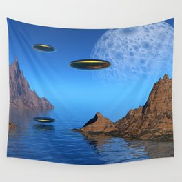 It's a Great Day For Flying Wall Tapestry
