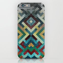 Trapezoidian Tessellation iPhone Case