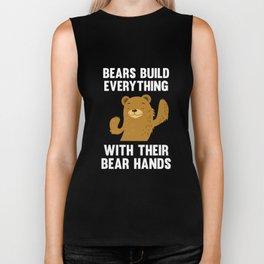 With Their Bear Hands Biker Tank