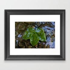 Glaze Framed Art Print