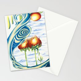 Poppie Flowers Stationery Cards