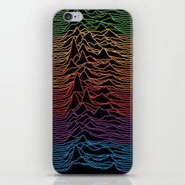 Joy Division - Unknown Apple Pleasures iPhone Skin