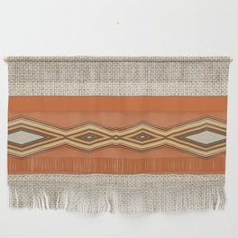 Southwestern Earth Tone Texture Design Wall Hanging