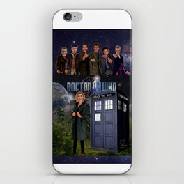 7 Doctors iPhone Skin