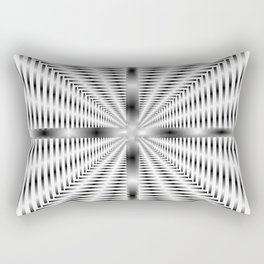 Into the Tunnel - Optical Illusion Rectangular Pillow