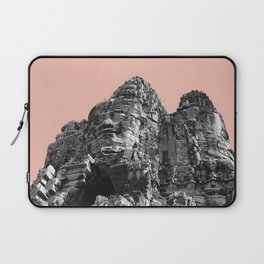 Part of Angkor Wat with beige Laptop Sleeve