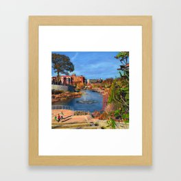 Historic Fourth Ward Park Framed Art Print