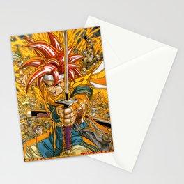 Chrono Trigger Magazine Illustration Stationery Cards