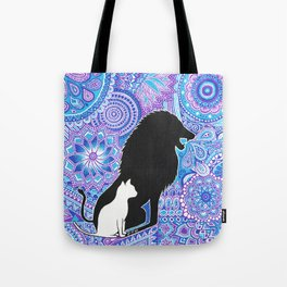 The lion's strength ! Tote Bag