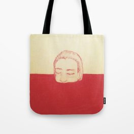 take a bath in my blood Tote Bag