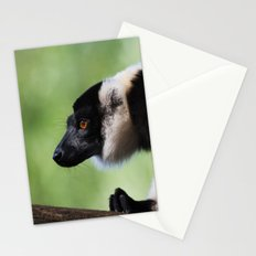 Varecia Variegata II Stationery Cards