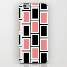 Black and Pink Bricks iPhone & iPod Skin
