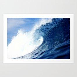 H.B. Empty Wave Art Print