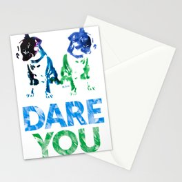Double Dog Dare You Stationery Cards