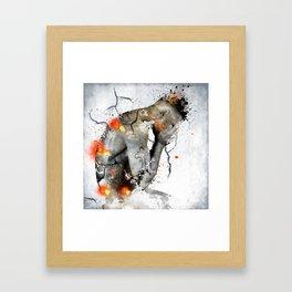 nude explore Framed Art Print