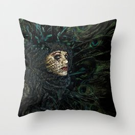 The Grande Dame Throw Pillow