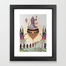 Love Nectar Framed Art Print