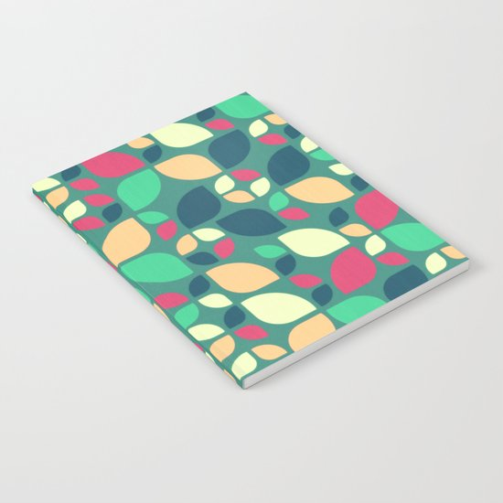 Vintage Spring Pattern II Notebook