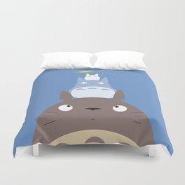 Totoros Duvet Cover