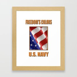 U.S. Navy Framed Art Print