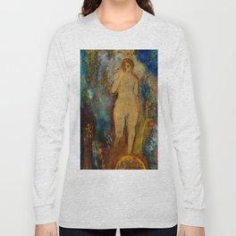 "Odilon Redon ""The Wheel of Fortune; La-Roue-de-la-Fortune"" Long Sleeve T-shirt"
