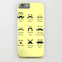 Eyes and Facial Hair Slim Case iPhone 6s
