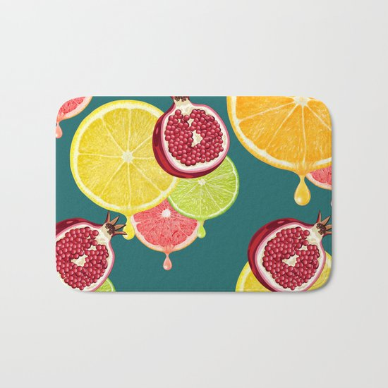 tropic fruit Bath Mat