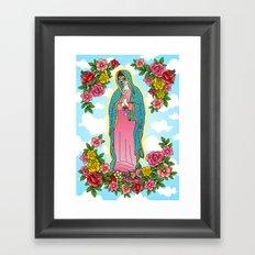 Maria De Los Muertos Framed Art Print