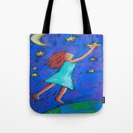 Reaching the stars Tote Bag