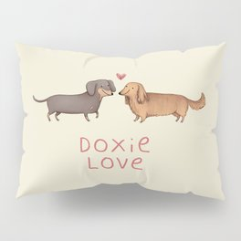 Doxie Love Pillow Sham