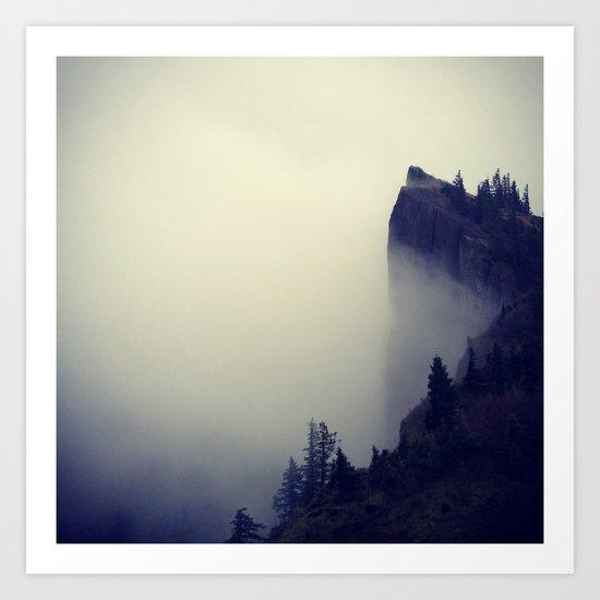 Heartbreak Ridge, Table Mountain WA Art Print