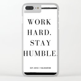37     | Mantra 190426 Clear iPhone Case